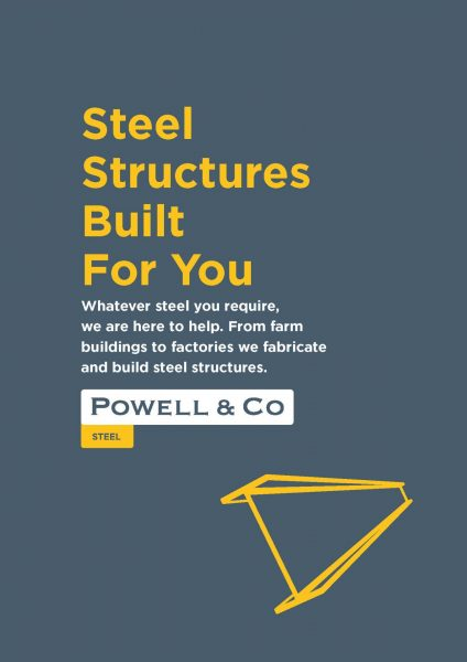 Powell & Co Steel Brochure Cover